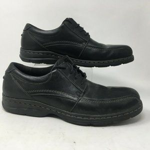 Dunham Mens Oxfords Shoes Bryce Black Leather Lace